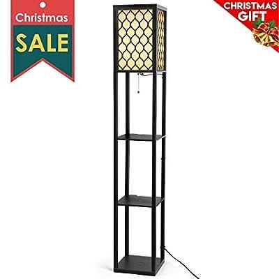 Albrillo Modern Shelf Floor Lamp