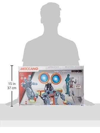 Meccanoid G15 KS Confezione per Costruire Un Robot Interattivo 120 cm MECCANO 6027423