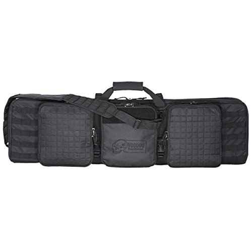 Deluxe Padded Bag - VooDoo Tactical 15-9648001000 Deluxe Padded Weapons Case, Black, 42