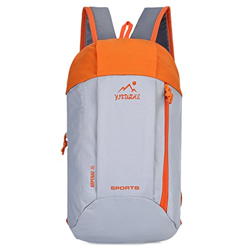 Backpack In Notebook Luce Tela Dell'acqua Resistente Campo Sportivo Verde Personalizzato Portatile Dunland Arancione Nylon ZxqfpAtwt