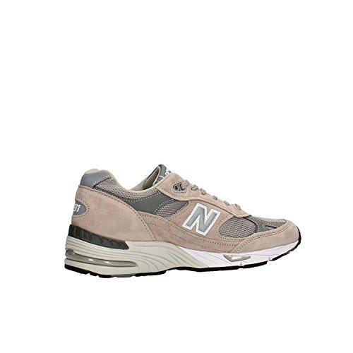 Sneaker New Balance 991 Limited Edition blu e pelle grigia gris