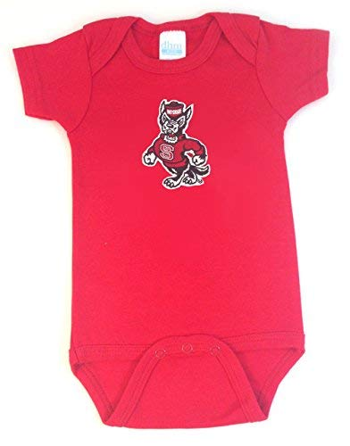 Future Tailgater NC State Wolfpack Baby Onesie (12-18 - Wolfpack State Nc Pajamas