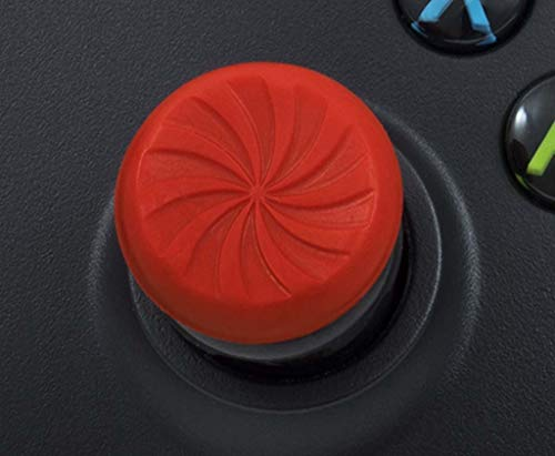 KontrolFreek FPS Freek Inferno for Xbox One Controller | Performance Thumbsticks | 2 High-Rise Concave | Red 6