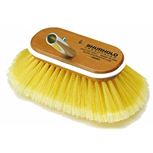 2015 Shurhold 960 6 Deck Brush with Soft Yellow Polystyrene Bristles