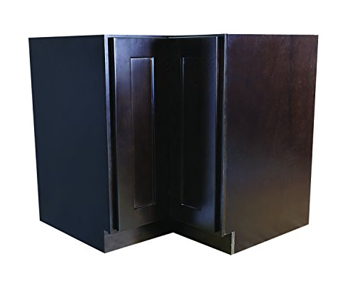 Design House 562025 Brookings 36-Inch Lazy Susan Cabinet, Espresso Shaker