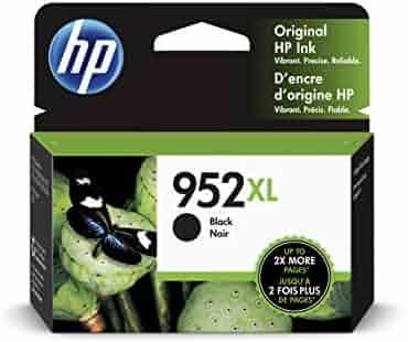 HP 952XL   Ink Cartridge   Black   F6U19AN