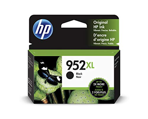 HP 952XL | Ink Cartridge | Black | F6U19AN (Best Value Printer 2019)