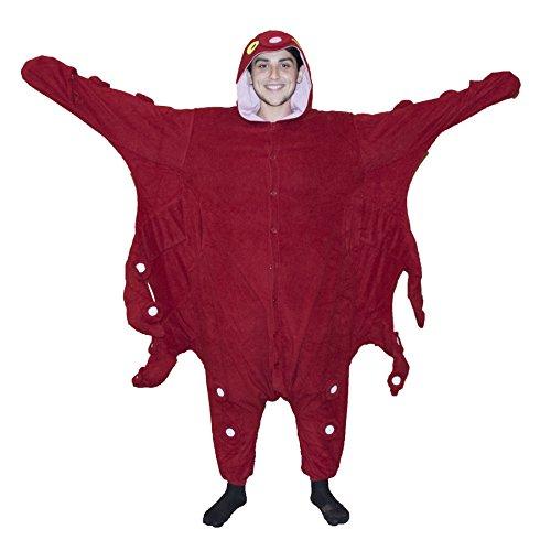 Octopus Kigurumi - Adult Costume