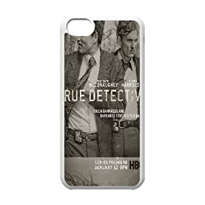 True Detective iPhone 5c Cell Phone Case White Exquisite gift (SA_471803)
