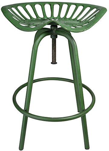Esschert Design Tractor Chair, Green by Esschert Design