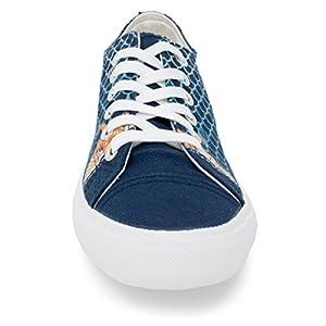 Mermaid Wish These Were Fins Sneakers | Cute Gym Tennis Shoe Women Men Little - (Lowtop, US Men's 13, US Women's 15)