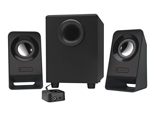 (Logitech Multimedia 2.1 Speakers Z213 for PC and Mobile Devices (Renewed) )