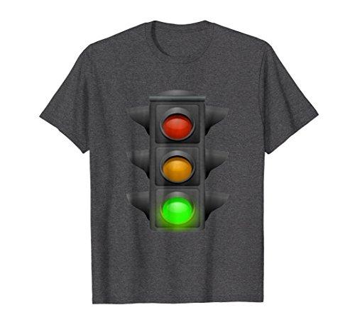 (Mens Green light - Traffic light - the light is green t-shirt 2XL Dark Heather)