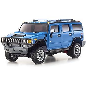Kyosho Mini-Z Overland Sports RC Hummer H2 Truck, Blue