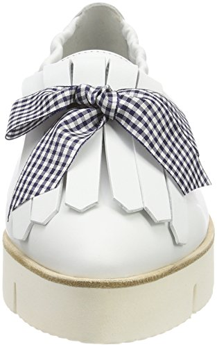 Blue Bianco Sohle Weiß para Kennel XXL Pia Blanco Schmenger con 627 und Bailarinas Mujer Plataforma 77qvPw