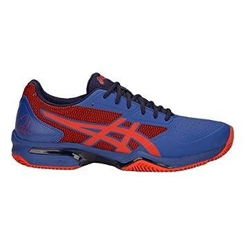 3454c2b7e1f4 ASICS Chaussures Gel-Lima Padel 2 - Rouge et Bleu - 46.5EU: Amazon ...