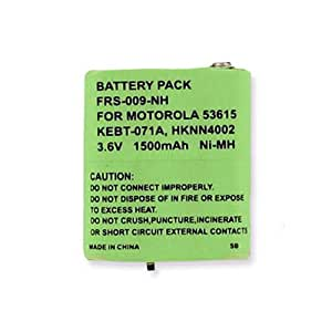 Motorola T5920 2-Way Radio Battery (Ni-MH 3.6V 1500mAh) Rechargeable Battery - replacement for Motorola 53615