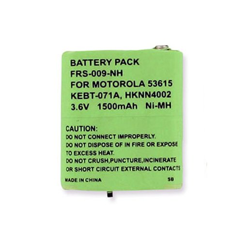 - Motorola KEBT-650 2-Way Radio Battery (Ni-MH 3.6V 1500mAh) Rechargeable Battery - replacement for Motorola 53615