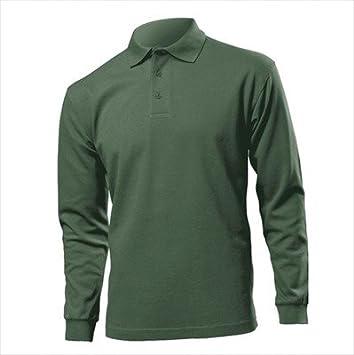 1c4dcc88 Hanes Mens Long Sleeve Beefy Polo Shirts: Amazon.co.uk: Sports & Outdoors