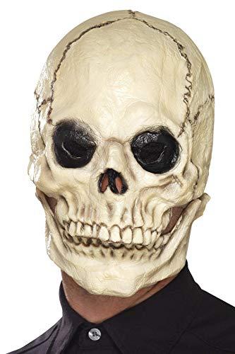(Full Overhead Foam Rubber Skull Mask.)