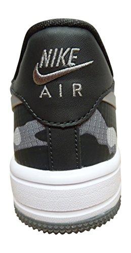 Basses Antrracite 003 2 Nike Air enfant Force 1 mixte 314192 Silver Metallic p887PXqaB