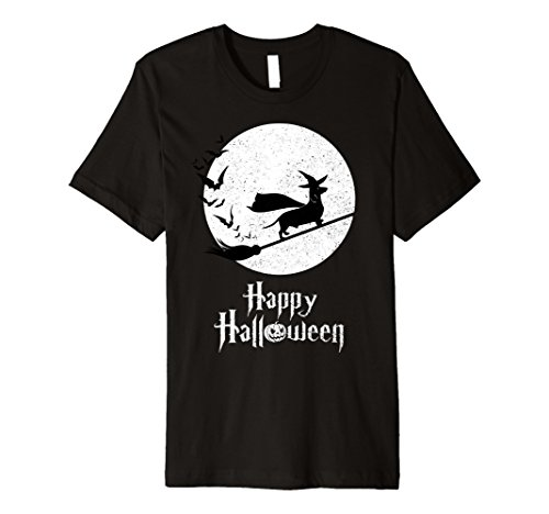 Mens Witch Halloween Costume T-Shirt MINIATURE DACHSHUND Lovers XL (Halloween Costumes For Miniature Dachshunds)