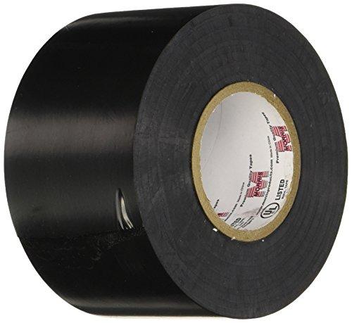 Morris 60202 Black Commercial Grade Vinyl Electrical Tape, 8.5 mil, 66' Length, 2