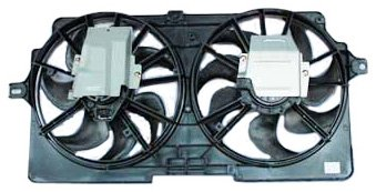 TYC 620410 Chevrolet/Oldsmobile/Pontiac Replacement Radiator/Condenser Cooling Fan Assembly