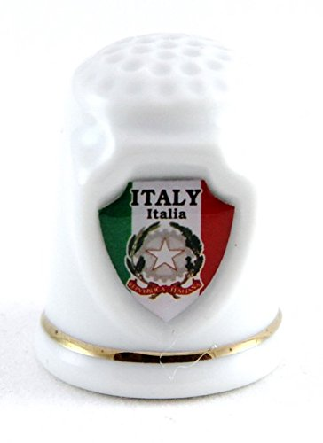 Italy Souvenir Collectible Lpco Thimble