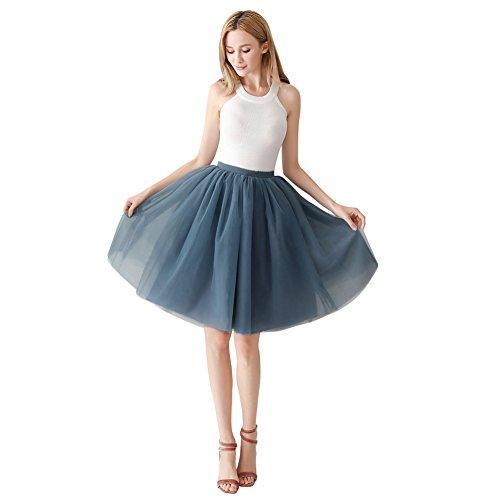 CM Tulle Jupon 60 Femmes Robe Fte Vintage ShowYeu Balle De de Mi Niagra Demoiselles Party Mollet Tutu Bal Ligne Dress A w4A0qI