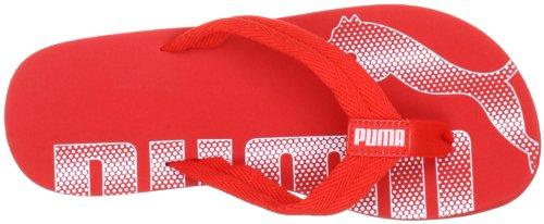 Puma Epic Flip Jr, Unisex-Kinder Zehentrenner Rot (high risk red-white 02)