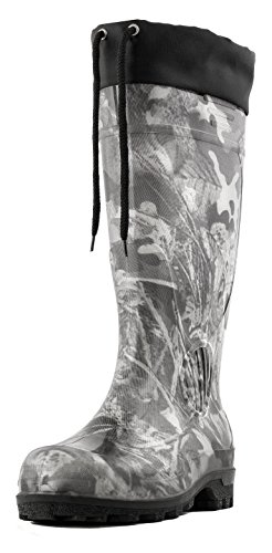 insulated waterproof rubber boots - 6