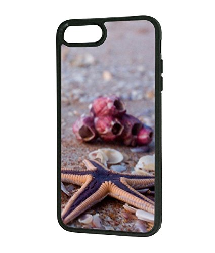 iPhone 7 Plus Case,Starfish Design Hard PC and Rubber TPU Slim Anti-Scratch Shockproof Protective Cover Case For iPhone 7 (The Fashion Spot Halloween)
