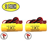 Product review for elb1p201n2 1.2v 1000mah Battery Exit Sign Emergency Light Lithonia 1.2v 1200mah ELB1P2901N ANIC1493 ELB0320 NiCad Battery