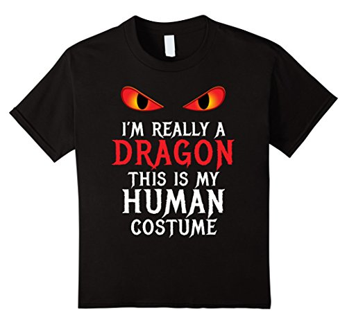 Mens Diy Scary Halloween Costumes (Kids Dragon Costume Halloween Shirt for Women Men Boys cool scary 12 Black)