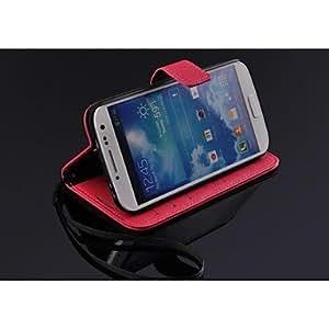 GX Teléfono Móvil Samsung - Carcasas de Cuerpo Completo - Color Sólido/Diseño Especial - para Samsung S4 I9500 ( Negro/Blanco/Rojo/Verde/Azul/Marrón/Rosa , Rose