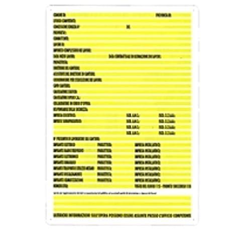 Cartel concessione obra 88 x 138 plástico [targotimbri ...