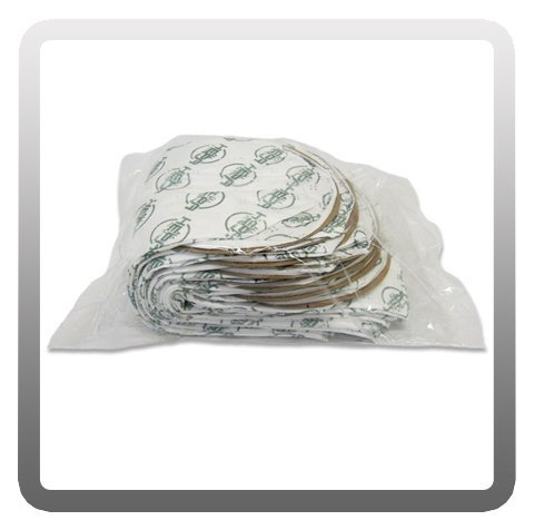 (Sandia 10-0006-HEPA HEPA Backpack Vacuum Micro-Lined Filter Bag, 10 Quart (Pack of 10))
