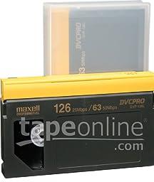 Maxell DVP-126L DVCPro Video Tape 126 Minute, Large