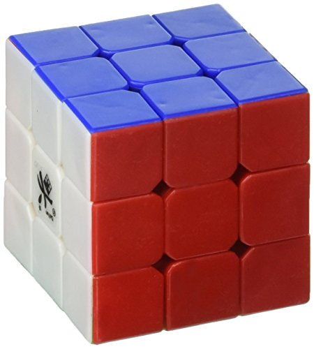 Dayan DYZH42 42mm Mini ZhanChi Stickerless Speed Cube, 3x3-Inch, 6 Color