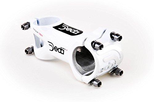 Stem Oversized - Deda Zero 2 Oversize 31.7mm Handlebar Stem - White 130mm