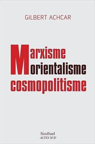 Book marxisme, orientalisme, cosmopolitisme