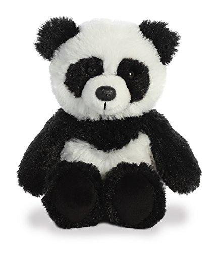 Aurora Panda Plush White Black product image