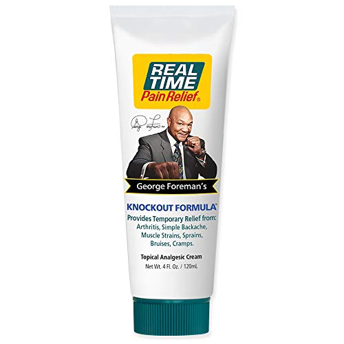 Real Time Pain Relief George Foreman's Knockout Formula
