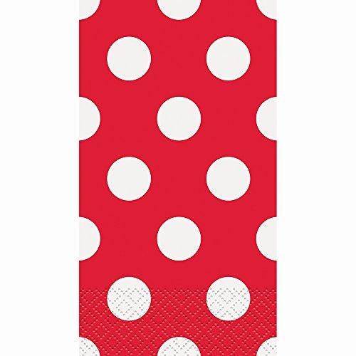 Polka Paper Guest Napkins 40ct