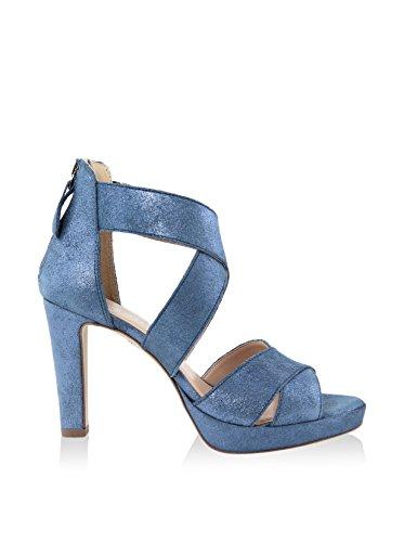 GIANNI GREGORI Sandalias de tacón Azul EU 41