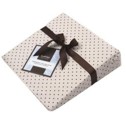 Kushies Pregnancy Pillow Cream Polka