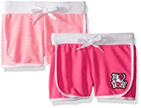 Limited Too Big Girls' 2 Pack Short (More Styles Available), 3063 Multi, 14/16