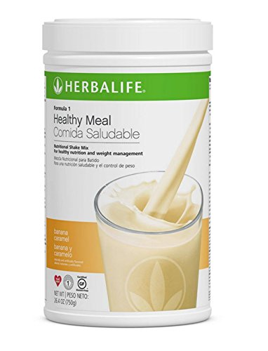 Herbalife Formula 1 Healthy Meal Nutritional Shake Mix (10 Flavor) (Banana Caramel)