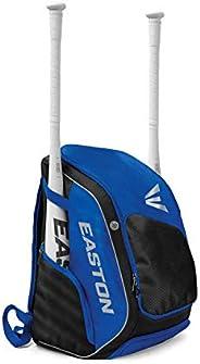 EASTON Elite X Bat & Equipment Backpack Bag, 2021, Baseball Softball, 2 Bat Sleeves, Vented Shoe and Equip